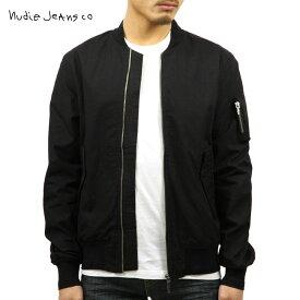 ヌーディージーンズ アウター メンズ 正規販売店 Nudie Jeans ジャケット ALEXANDER JACKET BLACK B16 160479
