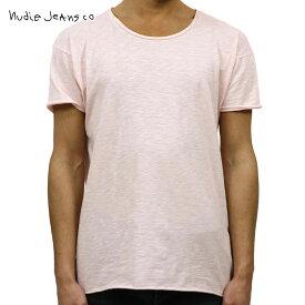 【ポイント10倍 12/11 10:00〜12/14 09:59まで】 ヌーディージーンズ Nudie Jeans 正規販売店 メンズ クルーネック 無地 半袖Tシャツ ROGER SLUB CREW TEE SHIRT SAKURA P07 131484 4002
