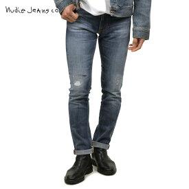 【ポイント10倍 12/11 10:00〜12/14 09:59まで】 ヌーディージーンズ ジーンズ メンズ 正規販売店 Nudie Jeans ジーパン シンフィン THIN FINN JEANS WORN TRUE 013 1131340 1197