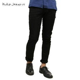 ヌーディージーンズ ジーンズ メンズ 正規販売店 Nudie Jeans グリムティム ボトムス ジーパン GRIM TIM DENIM JEANS BLACK ACE 854 1126390