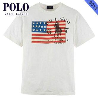 8a6368667534 Rakuten Ichiba shop MIXON  Poloralflorenkids POLO RALPH LAUREN CHILDREN  genuine kids clothing boys short sleeve T Shirt Big Pony Flag Cotton Tee   37717056 ...