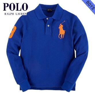 폴로 랄프로렌 키즈 POLO RALPH LAUREN CHILDREN 정품 아동 의류 남자 긴 소매 폴로 셔츠 CUSTOM-FIT BIG PONY SHIRT 37716606