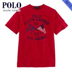 ポロ ラルフローレン キッズ Tシャツ 子供服 正規品 POLO RALPH LAUREN CHILDREN 半袖Tシャツ SAILING COTTON GRAPHIC TEE 56856786 D20S30