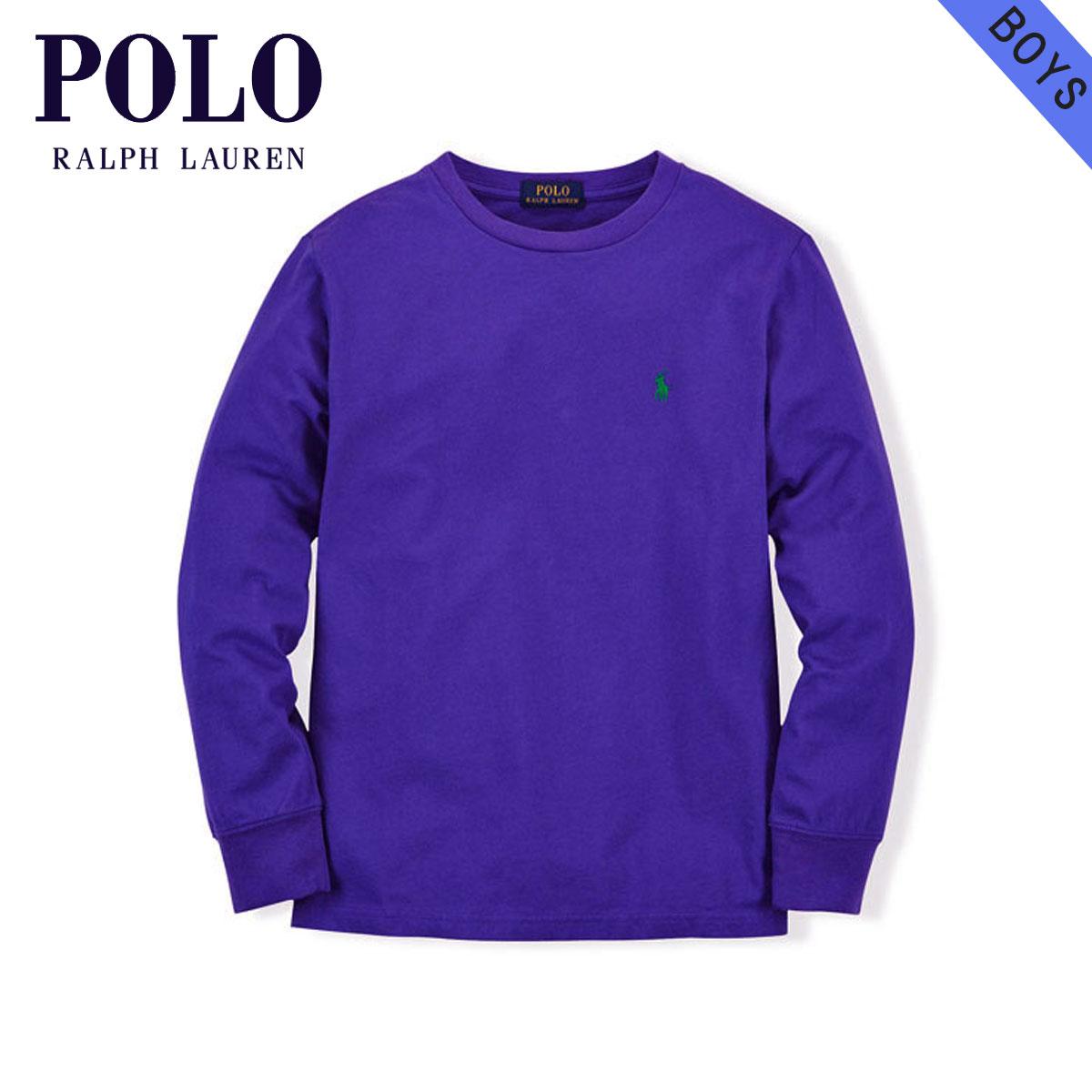 ポロ ラルフローレン キッズ POLO RALPH LAUREN CHILDREN 正規品 子供服 ボーイズ 長袖Tシャツ LONG-SLEEVED COTTON CREW TEE 65353176 D20S30