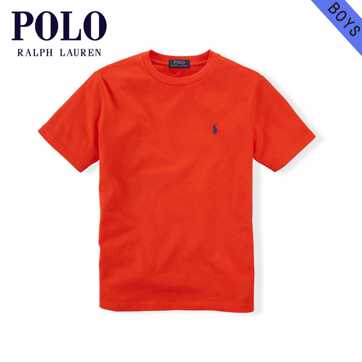 ポロ ラルフローレン キッズ POLO RALPH LAUREN CHILDREN 正規品 子供服 ボーイズ 半袖Tシャツ COTTON SHORT-SLEEVED CREW TEE 65354106 D00S20