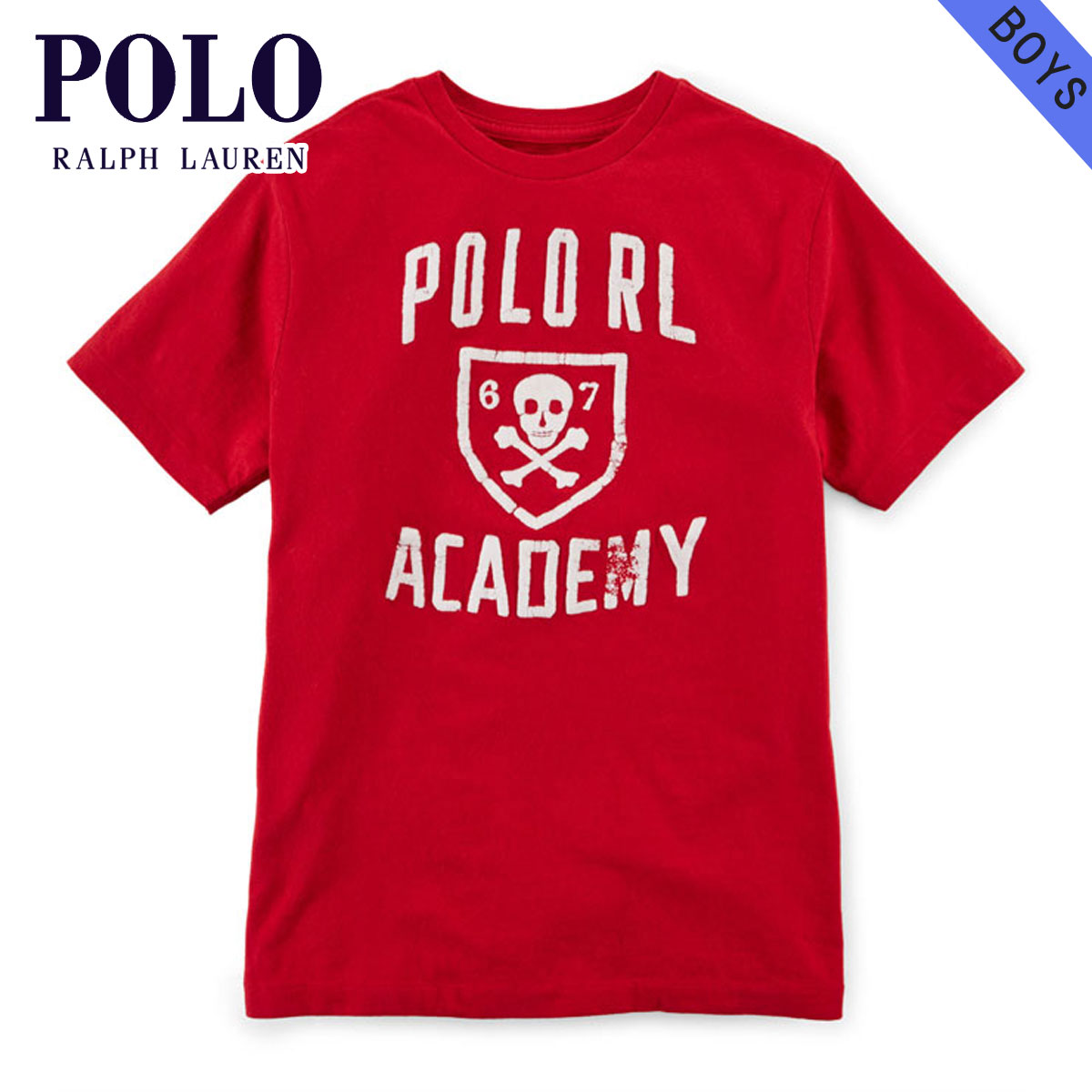 ポロ ラルフローレン キッズ POLO RALPH LAUREN CHILDREN 正規品 子供服 ボーイズ 半袖Tシャツ COTTON GRAPHIC TEE 65353246 D20S30
