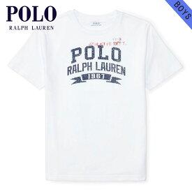 ポロ ラルフローレンキッズ POLO RALPH LAUREN CHILDREN 正規品 子供服 ボーイズ 半袖Tシャツ COTTON JERSEY GRAPHIC TEE 112934906 父の日 ギフト ラッピング