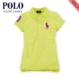 4a87a6f7a79f5 ポロ ラルフローレン キッズ ポロシャツ ガールズ 子供服 正規品 POLO RALPH LAUREN CHILDREN 半袖ポロシャツ
