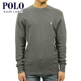 ポロ ラルフローレン Tシャツ メンズ 正規品 POLO RALPH LAUREN 長袖Tシャツ L/S Thermal チャコール
