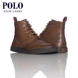 【販売期間 9/18 10:00〜9/24 09:59】 ポロ ラルフローレン POLO RALPH LAUREN 正規品 靴 JARROD CAP TOE BROWN ラルフローレン D20S30