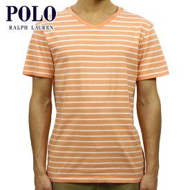 【ポイント10倍 9/19 20:00〜9/24 01:59まで】 ポロ ラルフローレン Tシャツ 正規品 POLO RALPH LAUREN 半袖Tシャツ Striped Pony V-Neck Tee D20 買いまわり