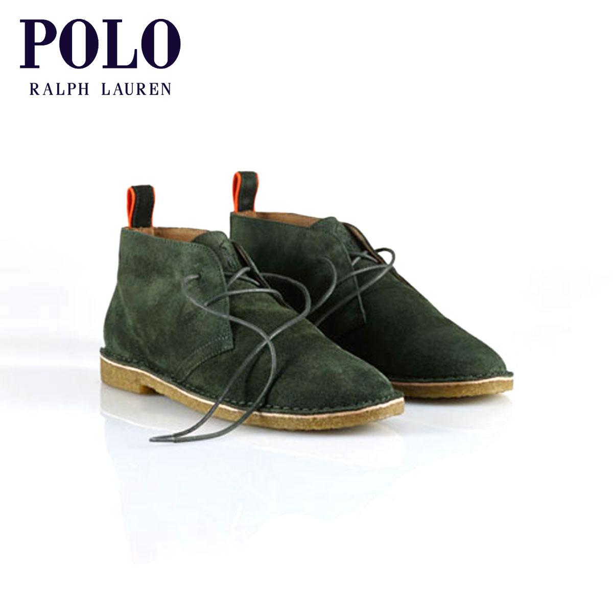 【販売期間 2/8 10:00〜2/18 09:59】 ポロ ラルフローレン POLO RALPH LAUREN 正規品 メンズ 靴 Casterton Suede Chukka Boot D20S30