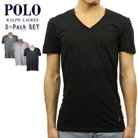 ポロ ラルフローレン Tシャツ 正規品 POLO RALPH LAUREN 半袖Tシャツ VネックTシャツ シャツ アンダーシャツ V-NECK TEE 3-PACK ASSORT ※梱包の都合上開梱した商品の返品・交換は不可能です。