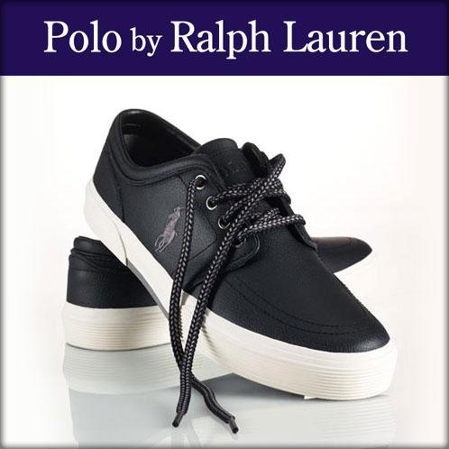 ポロ ラルフローレン POLO RALPH LAUREN 正規品 メンズ 靴 シューズ LEATHER FAXON SNEAKER