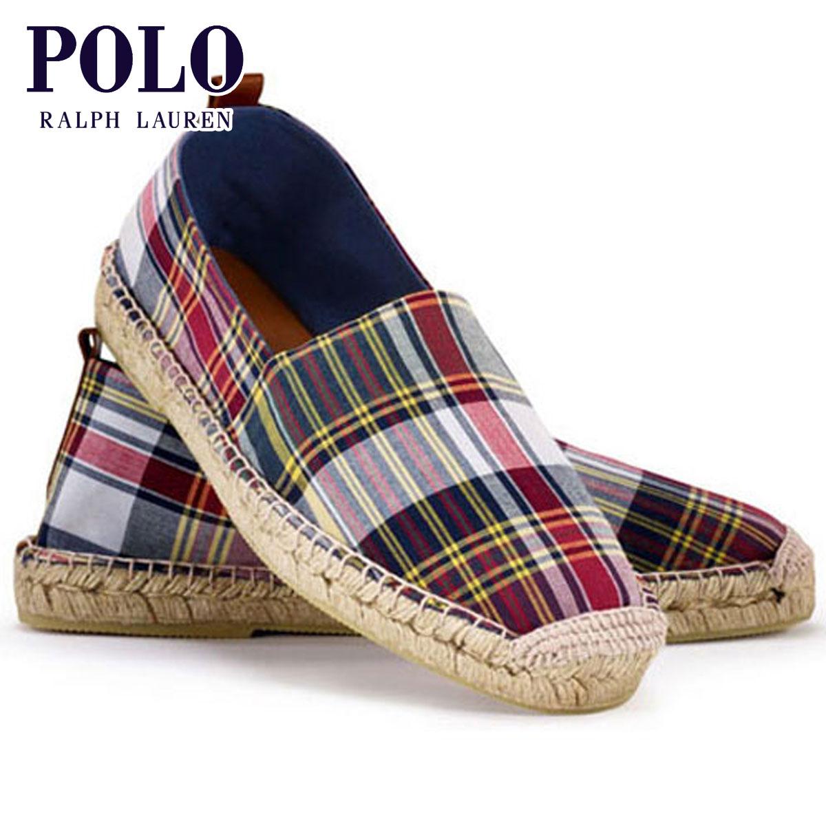 ポロ ラルフローレン POLO RALPH LAUREN 正規品 メンズ 靴 シューズ Madras Espadrille D20S30