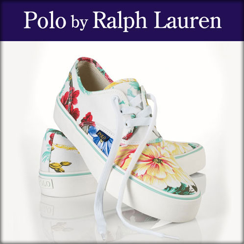 【20%OFFセール 5/25 10:00〜5/30 23:59】 ポロ ラルフローレン POLO RALPH LAUREN 正規品 メンズ 靴 シューズ FLORAL MORRAY SNEAKER