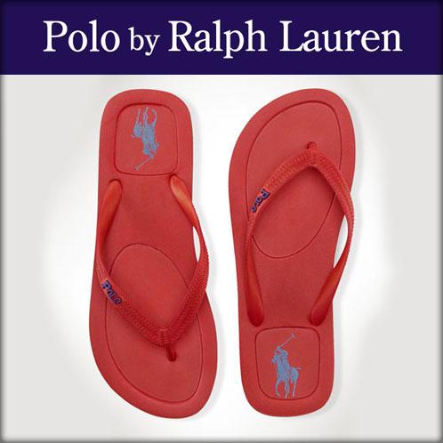 【販売期間 2/19 10:00〜3/2 9:59】 ポロ ラルフローレン POLO RALPH LAUREN 正規品 サンダル HALESOWEN FLIP-FLOP