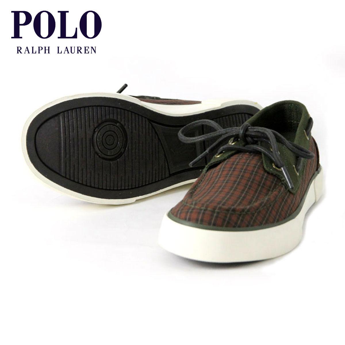 【販売期間 2/19 10:00〜3/2 9:59】 ポロ ラルフローレン POLO RALPH LAUREN 正規品 メンズ 靴 シューズ LANDER PLAID SNEAKER