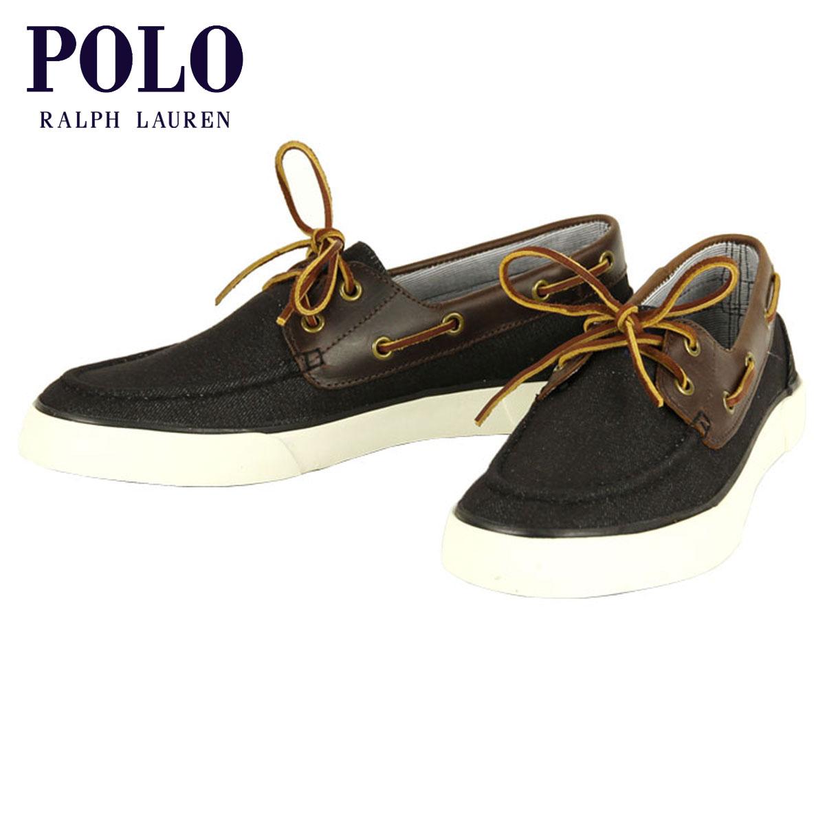 ポロ ラルフローレン POLO RALPH LAUREN 正規品 メンズ 靴 シューズ RYLANDER DENIM-LEATHER SNEAKER