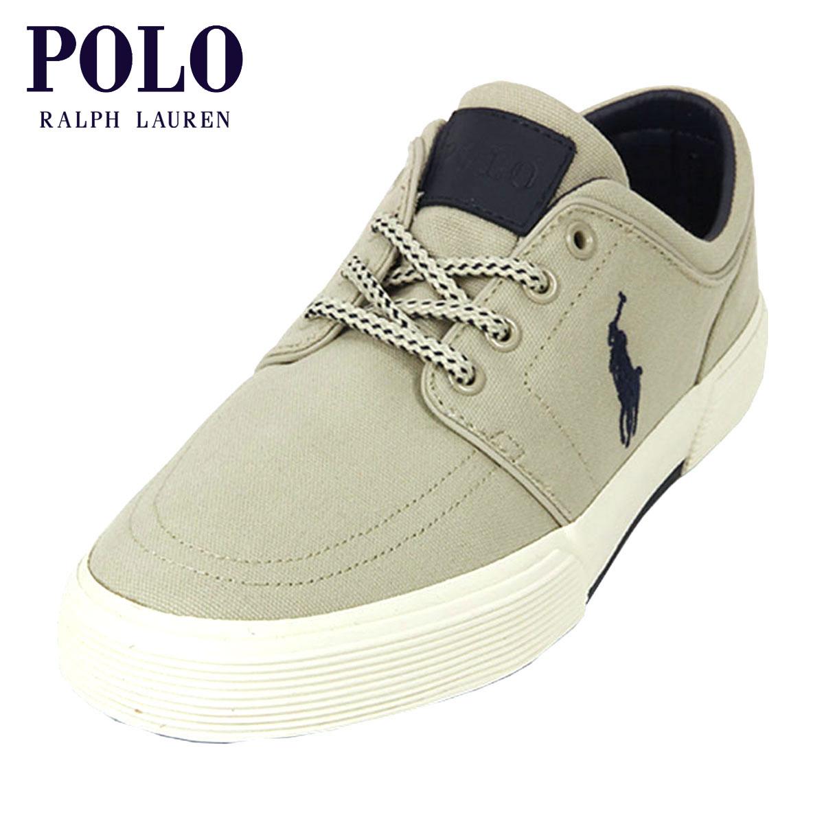 ポロ ラルフローレン POLO RALPH LAUREN 正規品 メンズ 靴 シューズ CANVAS FAXON LOW SNEAKER D00S15