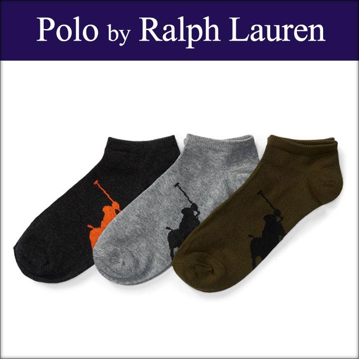ポロ ラルフローレン POLO RALPH LAUREN 正規品 靴下 ソックス LOW-PROFILE-SOCK 3-PACK