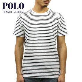 ポロ ラルフローレン Tシャツ 正規品 POLO RALPH LAUREN 半袖Tシャツ STRIPED SHORT-SLEEVED T-SHIRT