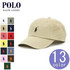 ポロラルフローレンPOLORALPHLAUREN正規品メンズ帽子キャップワンポイント刺繍入りCOTTONBASEBALLCAP