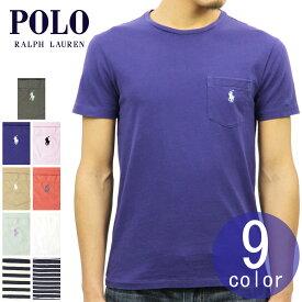 ポロ ラルフローレン POLO RALPH LAUREN 正規品 メンズ 半袖ポケットTシャツ COTTON POCKET T-SHIRT