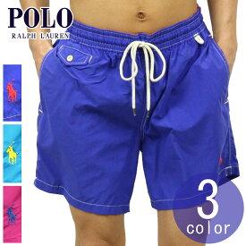 ポロ ラルフローレン 水着 メンズ 正規品 POLO RALPH LAUREN スイムパンツ 5,3-INCH SWIM TRUNK