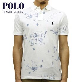 ポロ ラルフローレン ポロシャツ 正規品 POLO RALPH LAUREN 半袖ポロシャツ CUSTOM SLIM FIT FISH POLO SHIRT