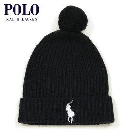ポロ ラルフローレン POLO RALPH LAUREN 正規品 ニットキャップ ニット帽 BIG PONY WOOL KNIT CAP