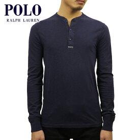 ポロ ラルフローレン POLO RALPH LAUREN 正規品 メンズ ヘンリーネック 長袖Tシャツ COTTON-BLEND HENLEY SHIRT NAVY 買いまわり