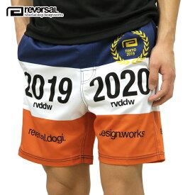リバーサル ショートパンツ メンズ 正規販売店 REVERSAL ボトムス アクティブショーツ 2019-2020 ACTIVE SHORTS rv19ss033 NAVY