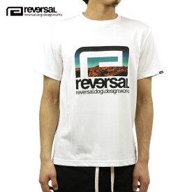 リバーサル Tシャツ メンズ 正規販売店 REVERSAL 半袖Tシャツ ドライ ロゴ クルーネック POSSIBILITY BIG MARK DRY TEE rv20aw003 WHITE
