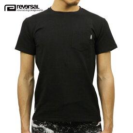 【クーポンゲットで10%OFF 12/1 00:00〜12/2 9:59】 リバーサル Tシャツ 正規販売店 REVERSAL 半袖Tシャツ ポケットTシャツ Harf Mesh Dry/Pocket Tee rv17ss049 BLACK