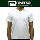 リバーサル REVERSAL 正規販売店 メンズ 半袖Tシャツ Harf Mesh Dry/V-NECK Tee rv17ss050 WHITE