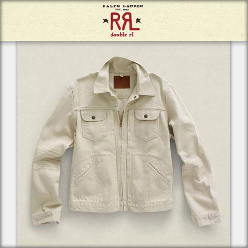 【販売期間 3/19 13:00〜3/29 9:59】 ダブルアールエル RRL 正規品 メンズ ジャケット Big Bell Twill Jacket CREAM