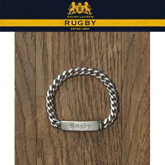拉爾夫勞倫橄欖球RUGBY RALPH LAUREN正規的物品人手鐲ID Bracelet