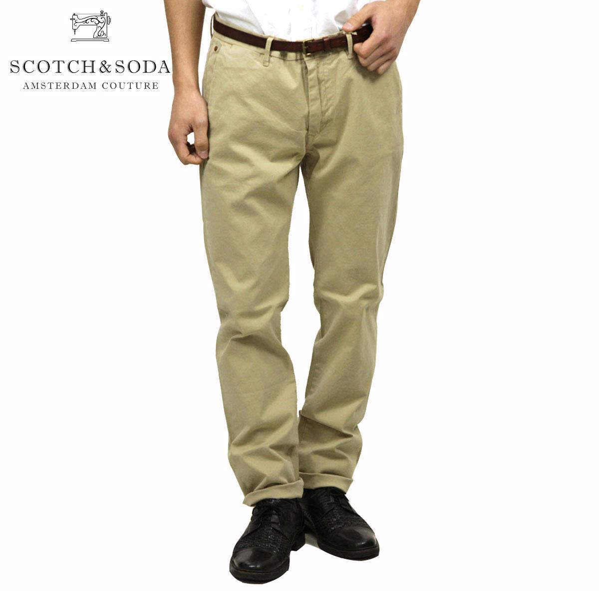 【ポイント10倍 4/21 10:00〜4/24 09:59まで】 スコッチアンドソーダ SCOTCH&SODA 正規販売店 メンズ コットンパンツ Slim fit cotton/elastan garment dyed chino pant, Stuart 124896 06