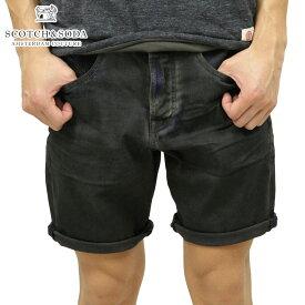スコッチアンドソーダ ショートパンツ メンズ 正規販売店 SCOTCH&SODA デニムハーフパンツボトムス SLOUCH SHORTS - THE GHOST 141248 1803 52502
