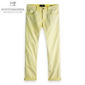 予約商品 9月頃入荷予定 スコッチアンドソーダ ジーンズ メンズ 正規販売店 SCOTCH&SODA カラーデニム ジーパン RALSTON - ACID WASH COLORS SUNBLEACH YELLOW 150921 85508 41 D