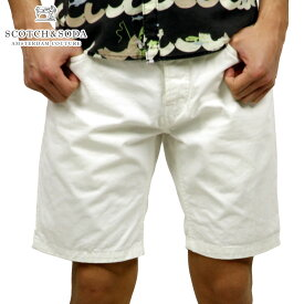 スコッチアンドソーダ ショートパンツ メンズ 正規販売店 SCOTCH&SODA ボトムス Slim fit 5 pocket short. 81109 01