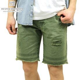 スコッチアンドソーダ ショートパンツ メンズ 正規販売店 SCOTCH&SODA ボトムス Rough denim treated 5-pocket s