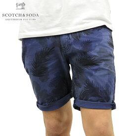 スコッチアンドソーダ ショートパンツ メンズ 正規販売店 SCOTCH&SODA ボトムス 5-pocket garment dye short 81109 B