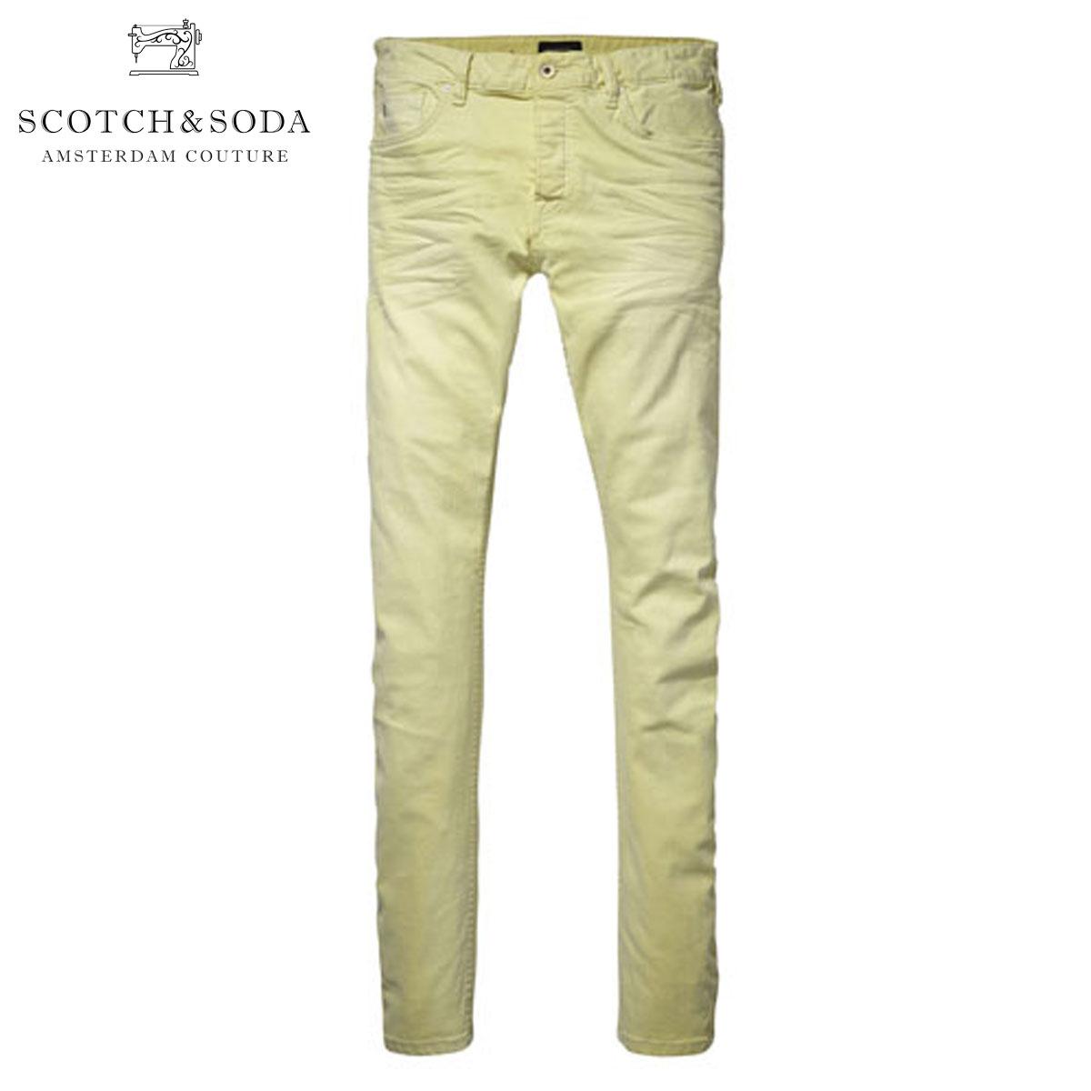 【販売期間 4/13 15:00〜4/24 9:59】 スコッチアンドソーダ SCOTCH&SODA 正規販売店 メンズ ジーンズ Rock related garment dyed skinny 5-pocket. Pike 80006 34