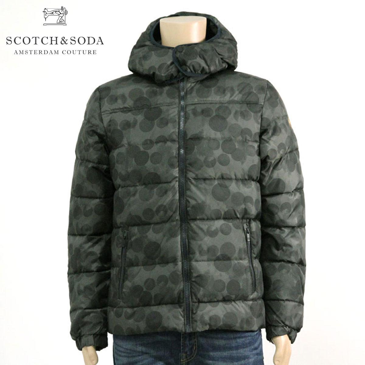 スコッチアンドソーダ SCOTCH&SODA 正規販売店 メンズ アウタージャケット SHORT DOWN JACKET WITH HOOD 10045 A D15S25