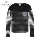スコッチアンドソーダ SCOTCH&SODA 正規販売店 メンズ 長袖Tシャツ Yarn dye stripe sweat with spray 132118 ...