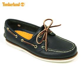 ティンバーランド Timberland 正規品 デッキシューズ CLASSIC BOAT SHOE 74036 ネイビー