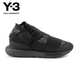 ワイスリー Y-3 正規品 メンズ スニーカー Y-3 QASA HIGH S82123 CORE BLACK/UTILITY BLACK/CORE BLACK