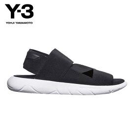 ワイスリー Y-3 正規品 メンズ サンダル Y-3 QASA SANDAL S82166 CORE BLACK/CORE BLACK/CRYSTAL WHITE